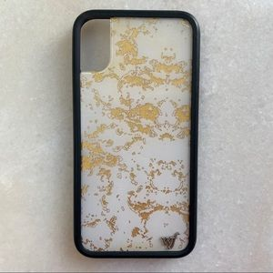 Wildflower Gold Dust IPhone X Case